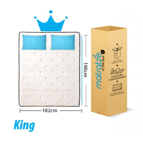 cheap king sized mattress price reviews of cheap mattress mattress2u matratze. Black Bedroom Furniture Sets. Home Design Ideas